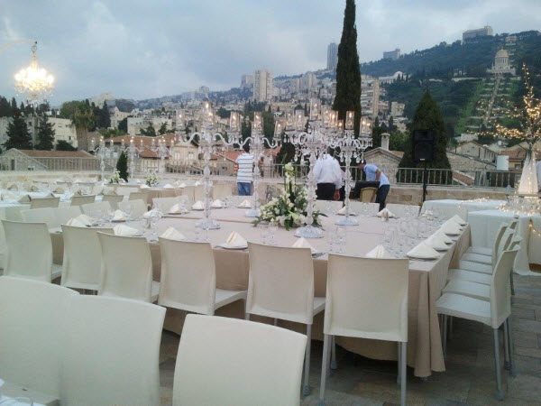 Events Roof in Colony Hotel Haifa